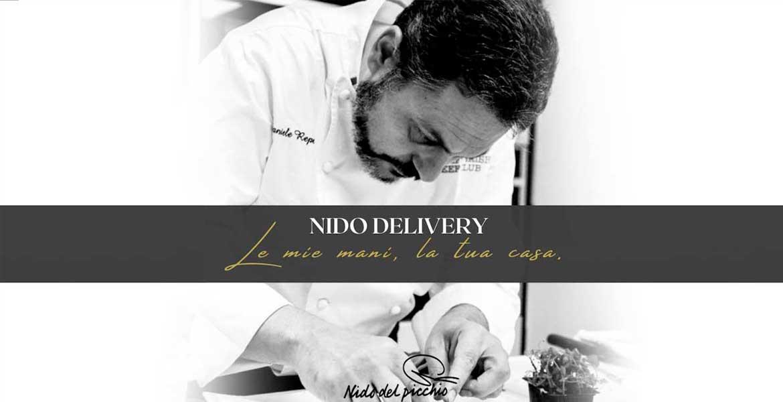 Nido delivery gourmet | Il menù da asporto del Nido del Picchio